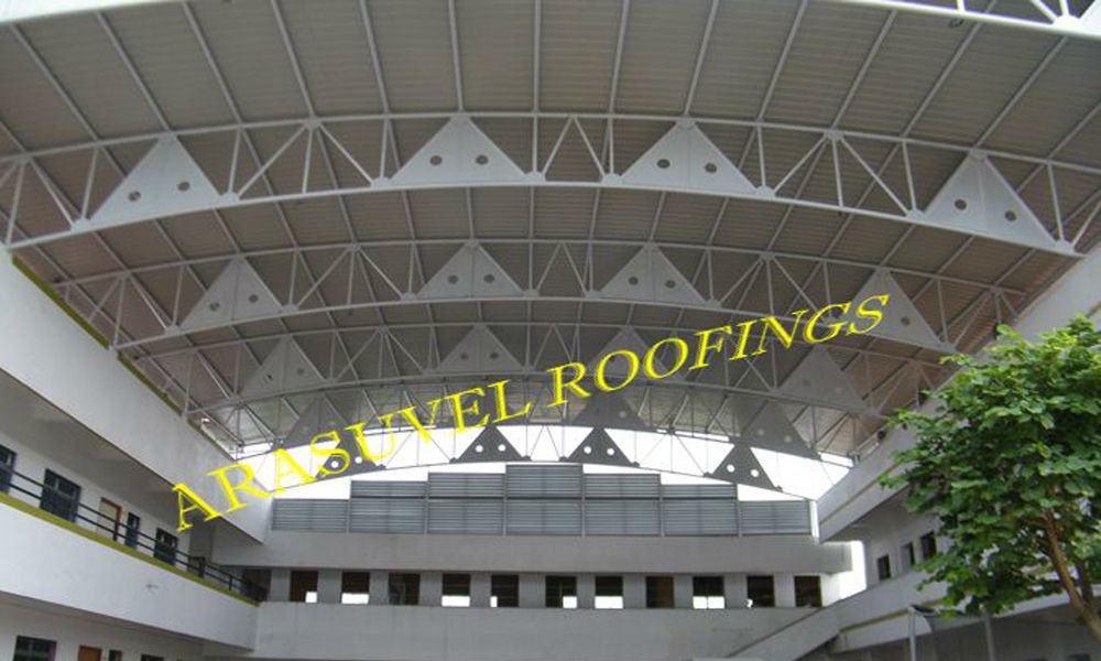 Polycarbonate Skylight Roofings in Chennai
